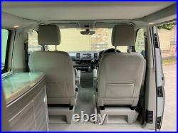 VW California Ocean Campervan T6 2017 Silver SWB EU6 204 PS 2.0TDi BMT 7sp DSG