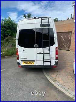 VW Crafter Camper Van OFF GRID conversion 2015 plate