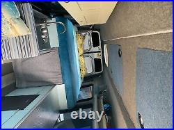 VW Crafter Campervan 5 berth, fixed king size bed