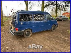 VW T4 Camper Van with pop top, 6 seater