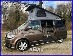 VW Transporter 2.0 BiTDI 180bhp Highline Campervan Camper Pop Top 2014 64
