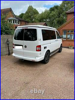 VW Transporter T5 Campervan with pop top & pull out double bed immaculate