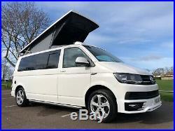 VW Transporter T6 highline LWB camper van pop top