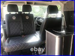 VW Volkswagen Campervan T5. Beautiful 2019 conversion. Pop top, 2 tone paint