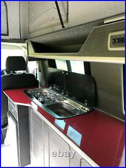 VW transporter Campervan T6 LWB Highline 4Motion 140BHP