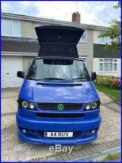 Vw T4 camper correctly registered as Motorhome