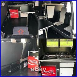 Vw T5 transporter day camper van Diesal heater fridge very clean 2008