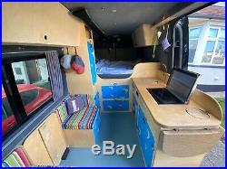 WV crafter camper van MWB 140 2014